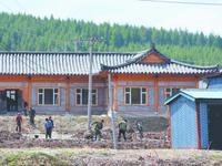 돈화시 관지진 강남촌 민속레저중심 건물 축조