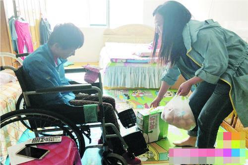 '전국 장애인 돕기 날'을 맞아 위문품 전달