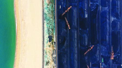 국내 첫번째 항구 공업 해안선의 퇴항환해