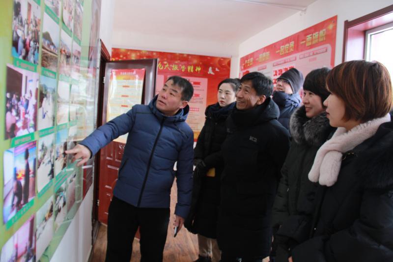 도문시교육국, 수남촌에 위문품 전달