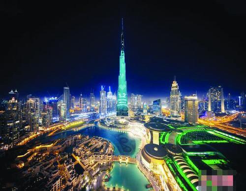 세계에서 제일 높은 '모금함' 두바이 부르크할리파 탑