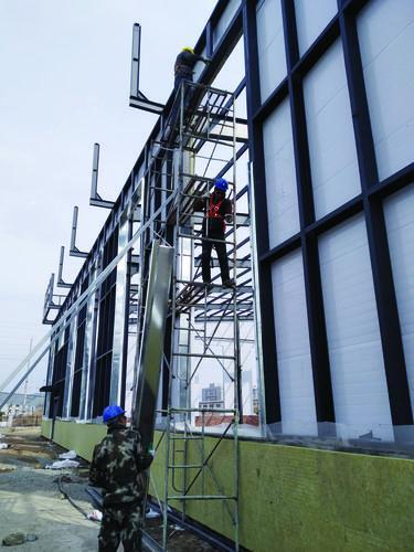 중국·룡정 대건강시범산업단지 건설현장