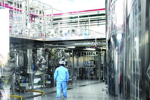 연변커시안생물과학기술유한회사 생산현장