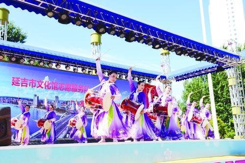 '한 가두 한 특색' 문화총결공연 청년광장서 펼쳐져