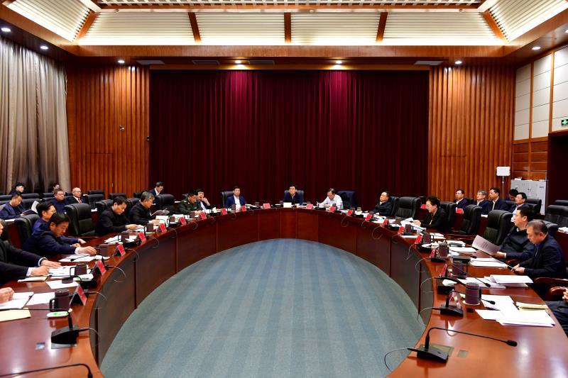 주당위 2021년 제8차 상무위원회의 소집