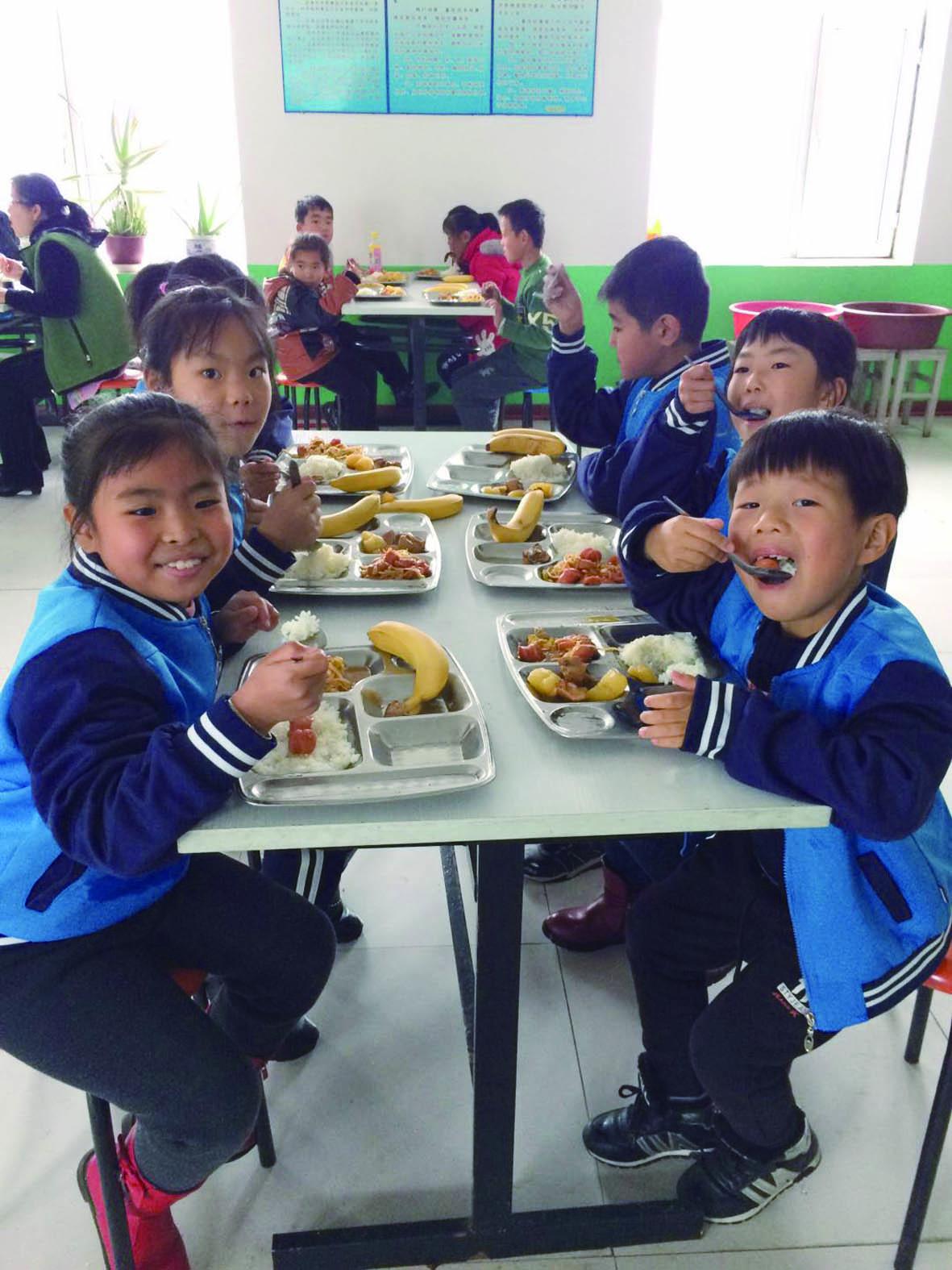 향촌아이들 맛나는 점심 무료로
