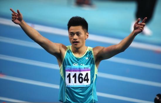 사진업, 중국 륙상 남자 100m 신기록 9초 97 작성