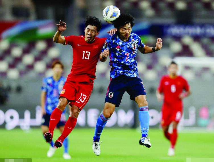국가팀, 월드컵 예선 2련패
